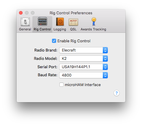 Aether Rig Control Preferences